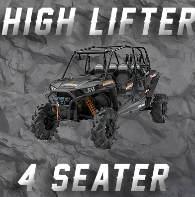 4 SEAT RZR XP 1000 & HIGH LIFTER TENDER SPRING SWAP KIT