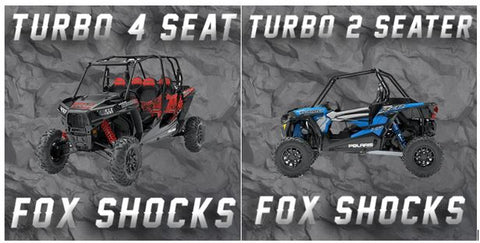 RZR TURBO - 2 SEATER & 4 SEATER W/ FOX ONLY TENDER SPRING SWAP KIT