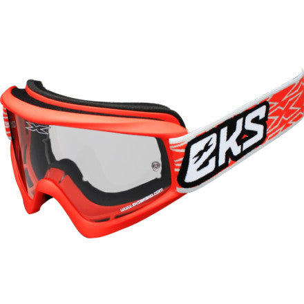 Flat Out EKS Liquid Red Goggles