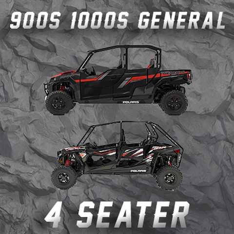 POLARIS RZR 900S - 1000S - GENERAL 4 SEATER TENDER SPRING SWAP KIT