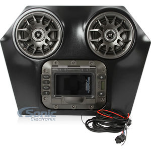 SSV Works WP-RZO Polaris BLUETOOTH IPOD 2 Speaker Overhead Weatherproof Audio System