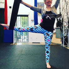 DOGNUTZ CIRCUS BLUE LEGGINGS