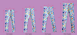"""RETURN OF THE CAT CAKES LEGGINGS"" (YOUTH)"