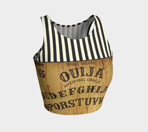 CIRCUS OUIJA ATHLETIC CROP TOP