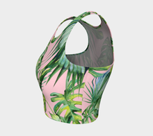 PALM PARADISE ATHLETIC CROP TOP