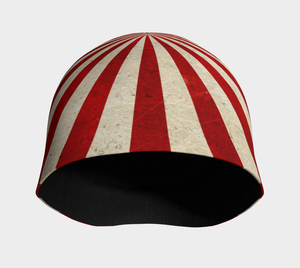 UNDER THE VINTAGE BIG TOP BEANIE