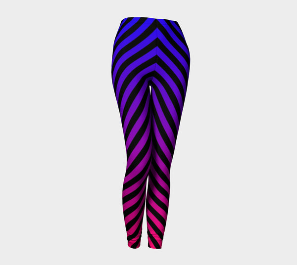PURPLE TO PINK OMBRE' LEGGINGS