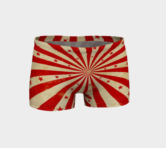 UNDER THE VINTAGE BIG TOP SHORTS