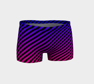 PURPLE TO PINK OMBRE' SHORTS