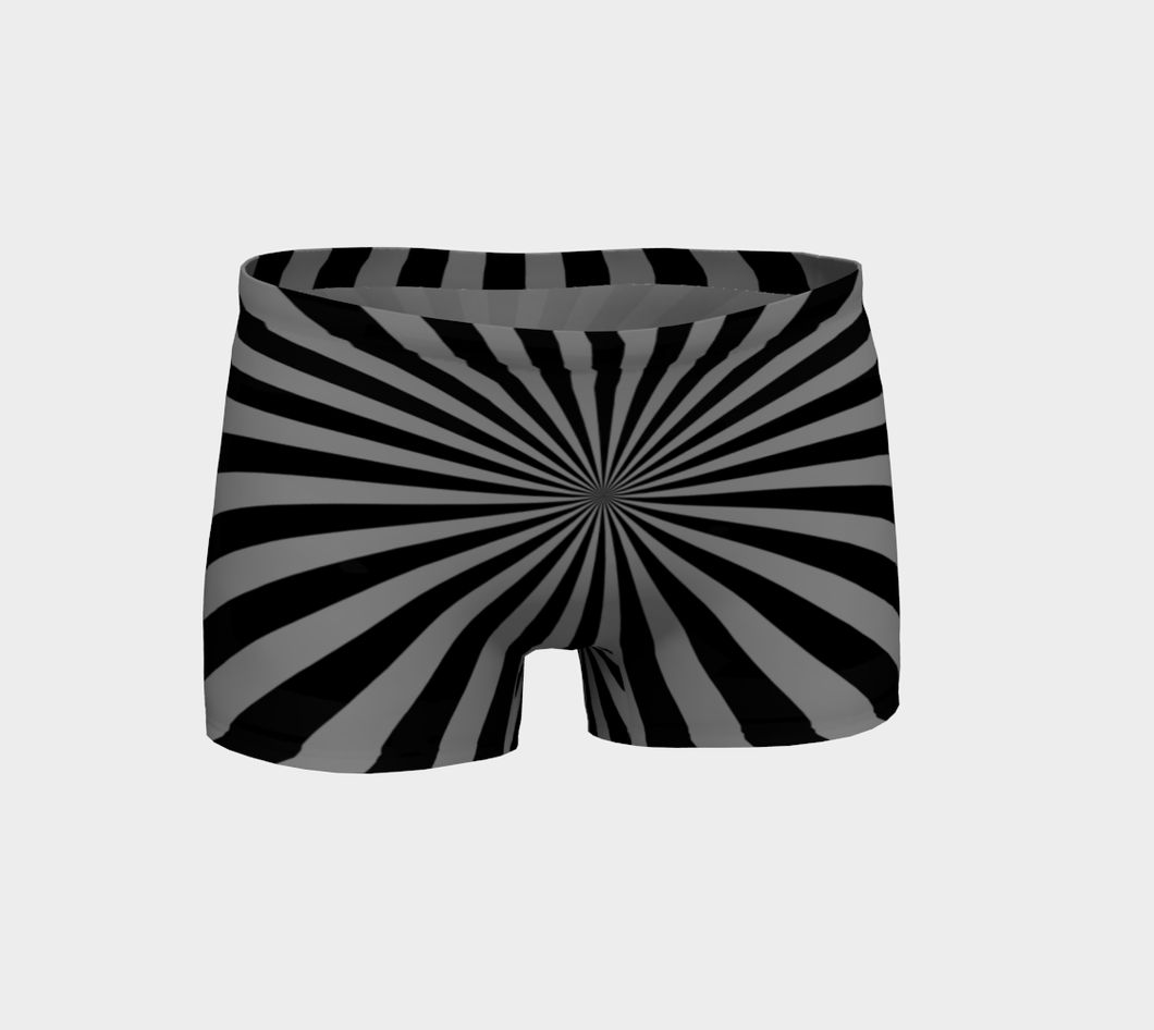 BLACK CIRCUS STARBURST SHORTS