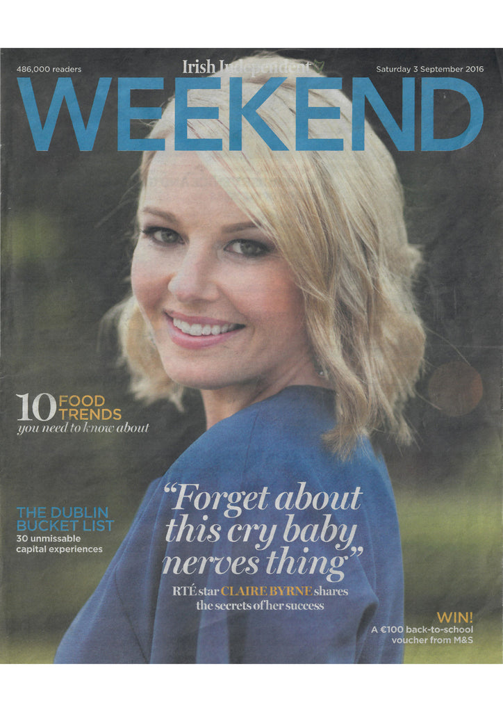Irish Independent Weekend September 2016