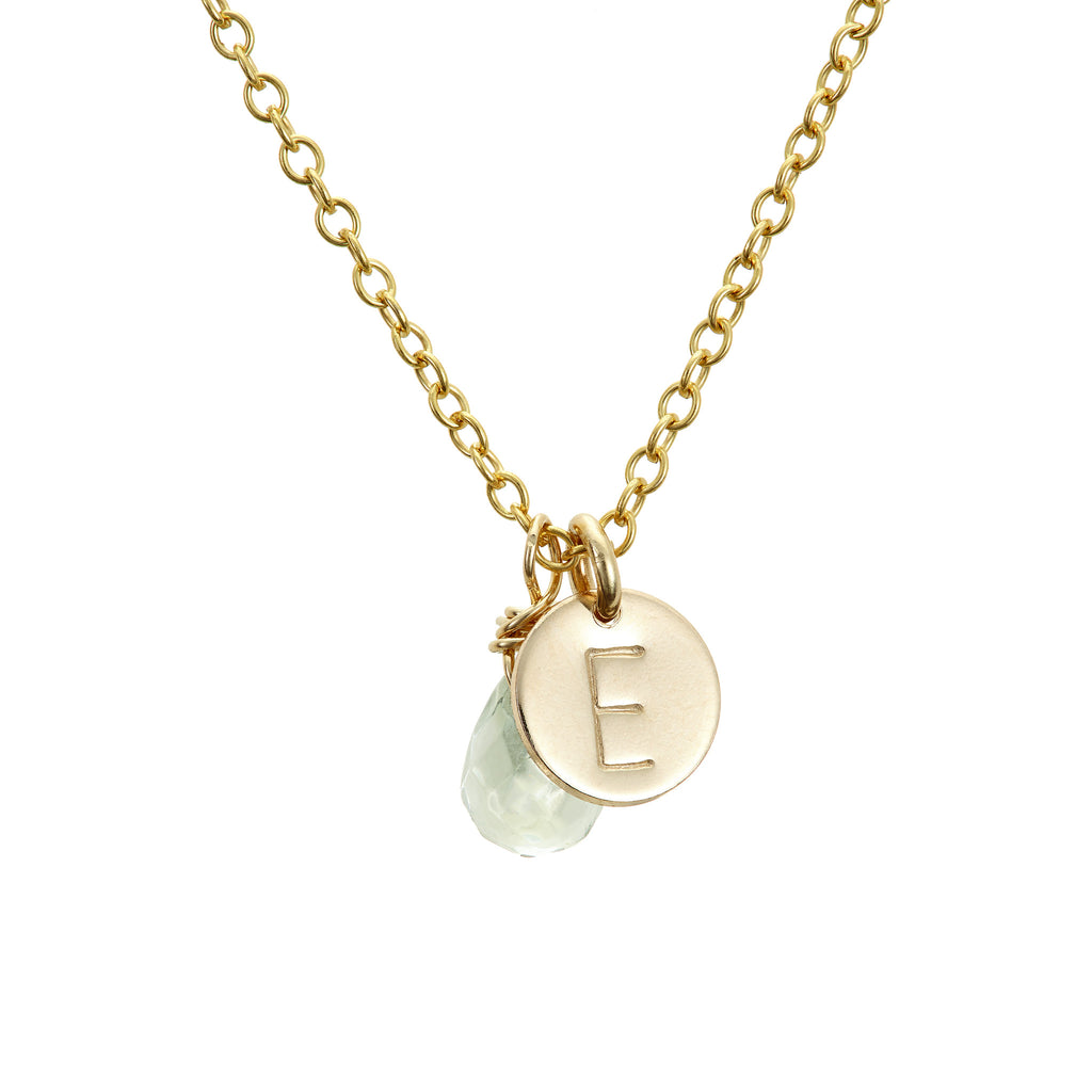 Chupi Initial Necklaces for our Lovely Bridesmaids