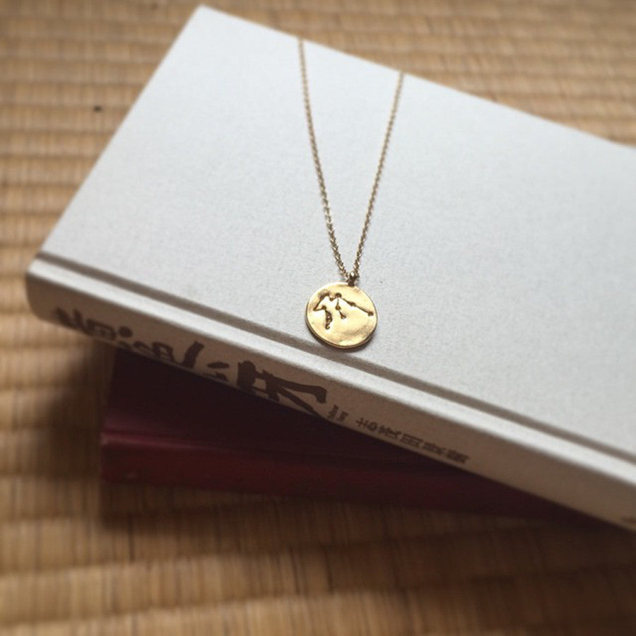 Piece of the week - Star sign necklace