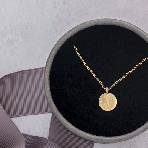 Worth your weight in gold coins necklace