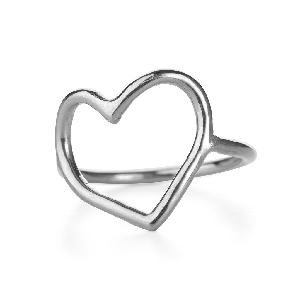 Chupi - Open Heart Ring - Silver