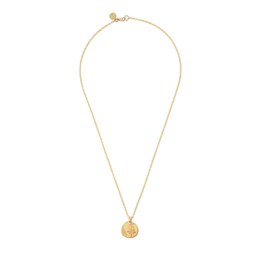 Chupi - Your North Star Necklace - Gold Plated
