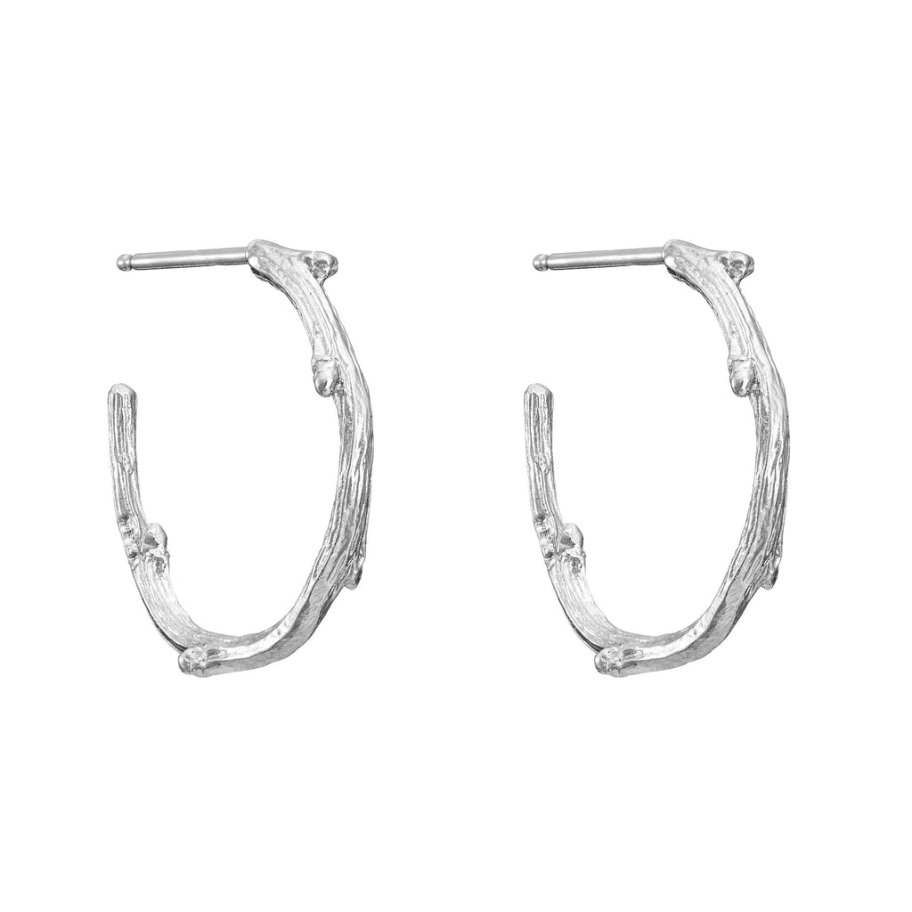 image-Chupi Love Is All You Need Midi Earrings in Silver