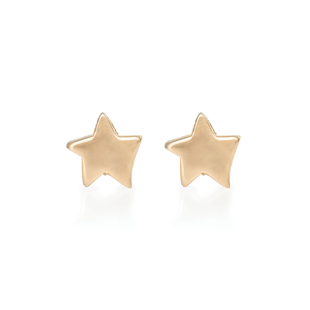 cc8130e1c Solid Gold Earrings. Individually handcrafted in our studio in ...