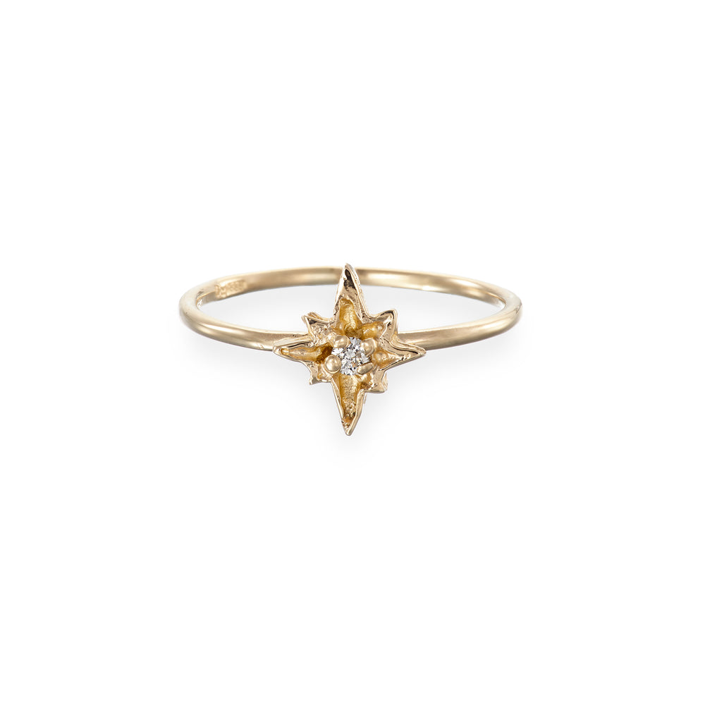 Chupi - I'd Be Lost Without You Ring - Solid Gold and Classic Diamond