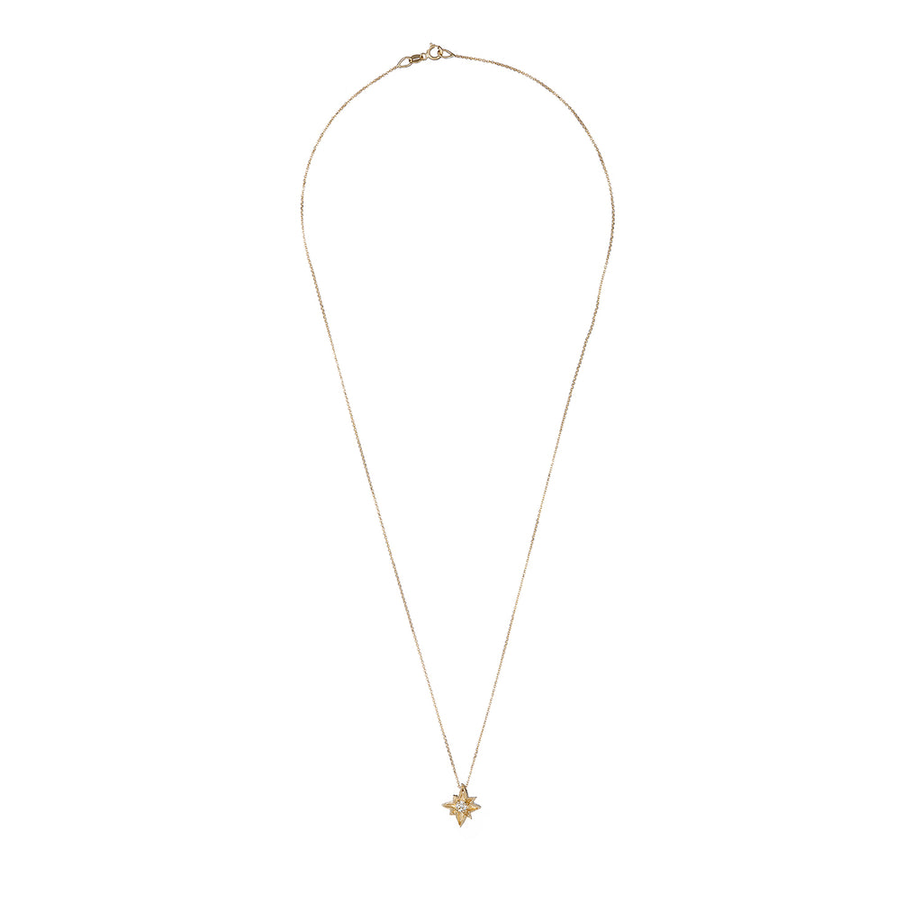 image-Solid Gold I'd Be Lost Without You Necklace