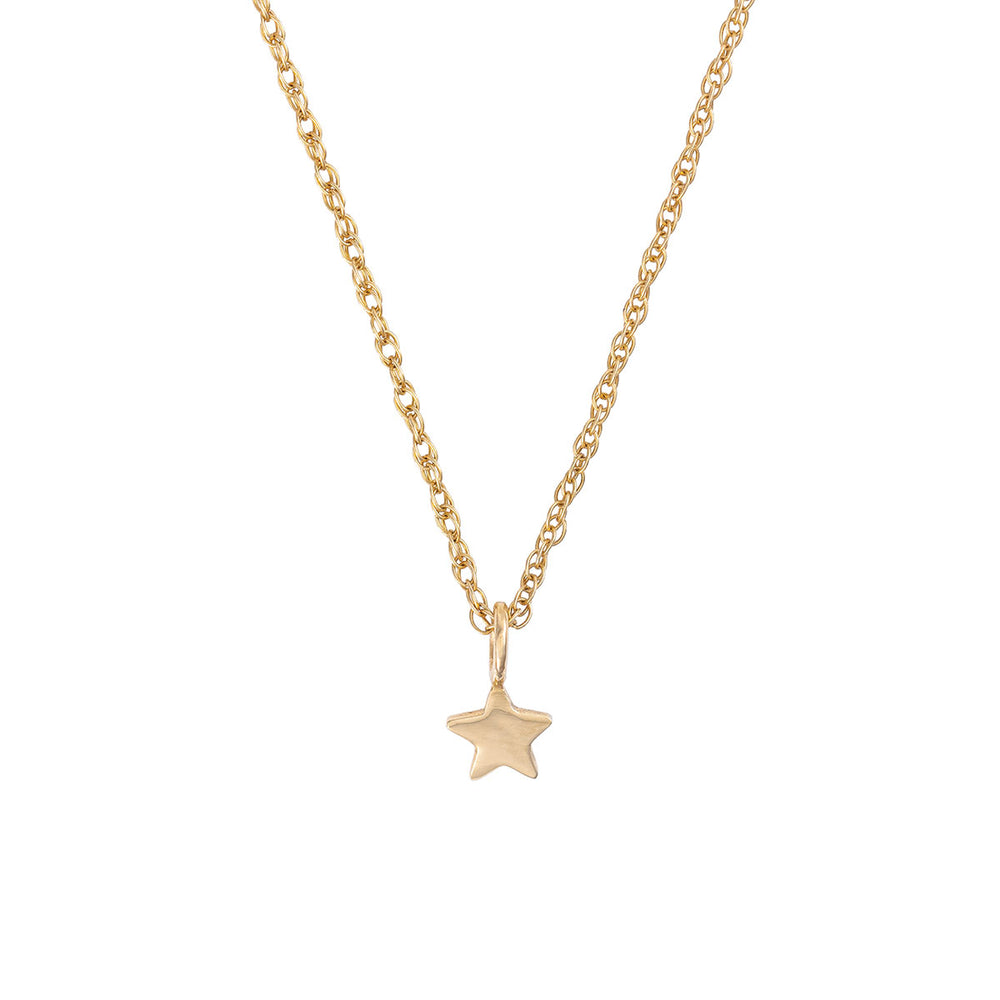 Chupi - Solid Gold Star Necklace - One in a Million