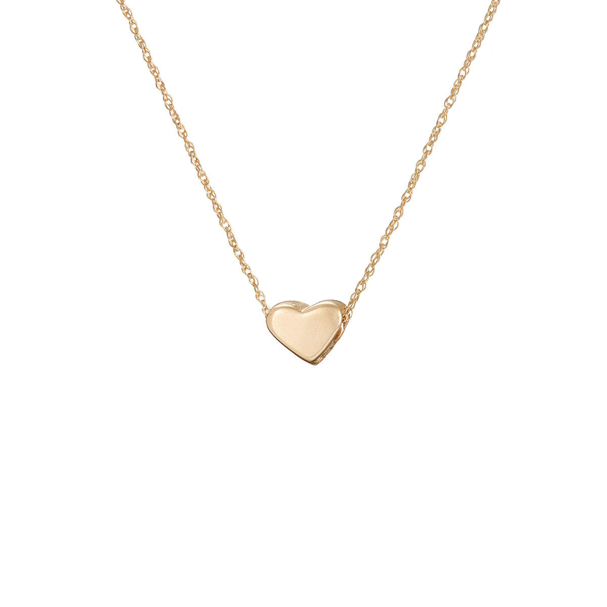 Solid gold you are my heart necklace chupi solid gold you are my heart necklace aloadofball Images