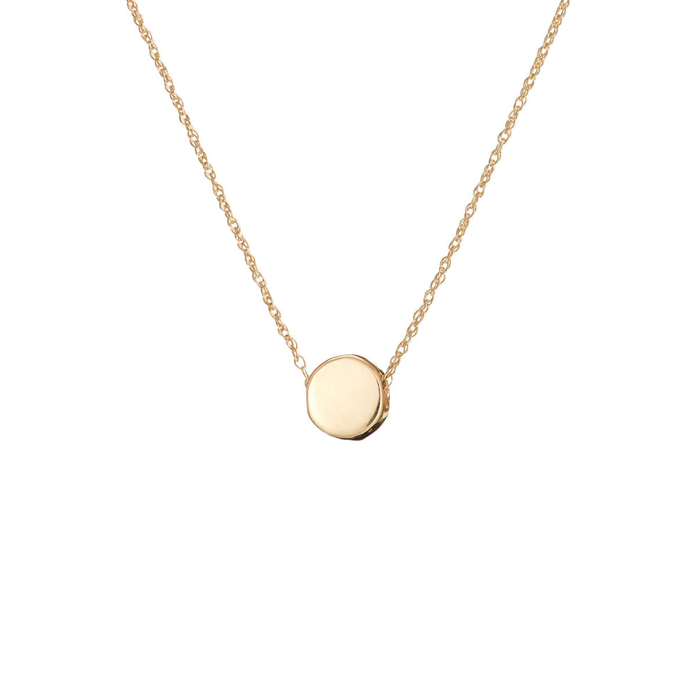 Chupi - Sun Necklace - Solid Gold You Are My Sun