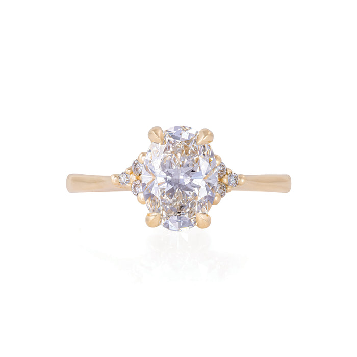 Starlight - 14k Polished Gold Lab-Grown Diamond Ring