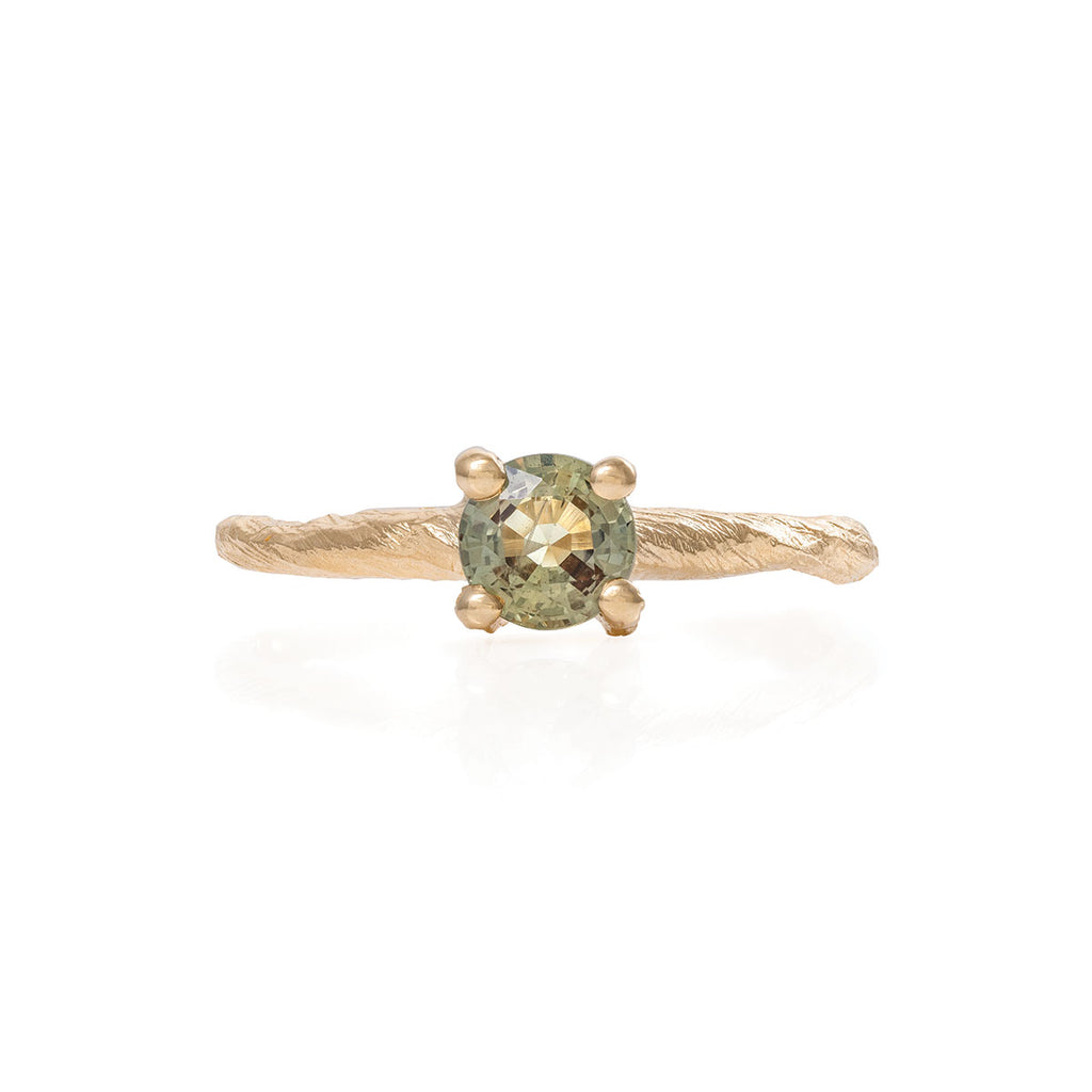 Chupi - Sapphire Engagement Ring - Twig Band - Darling in the Wild