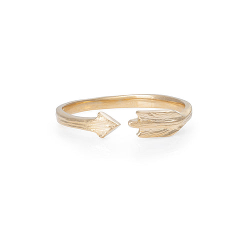 Chupi - Arrow Ring - Solid Gold - Follow Your Dreams