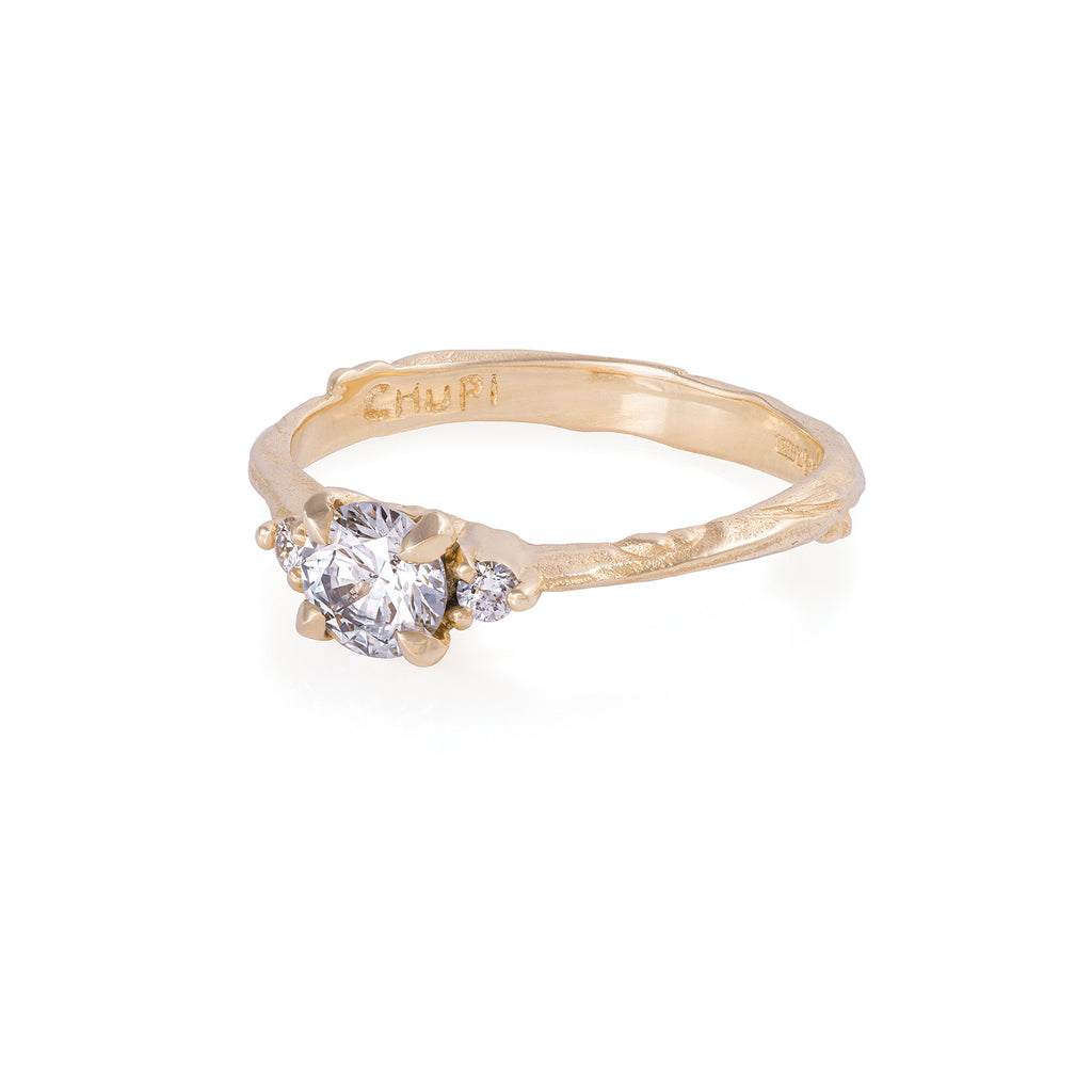 Solid Gold Love is All - Lab Grown Diamond Ring