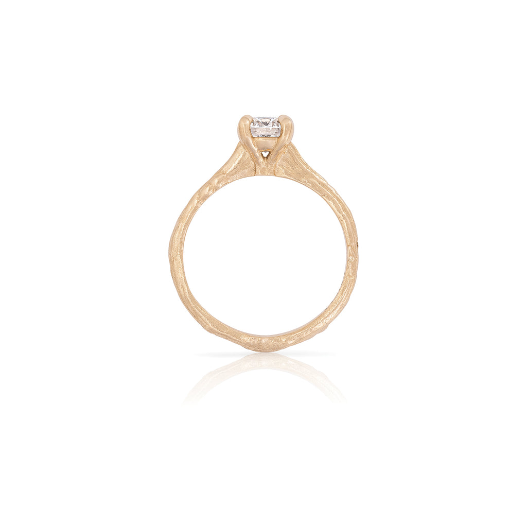 Solid Gold Sparkle in the Wild - Lab Grown Diamond Ring
