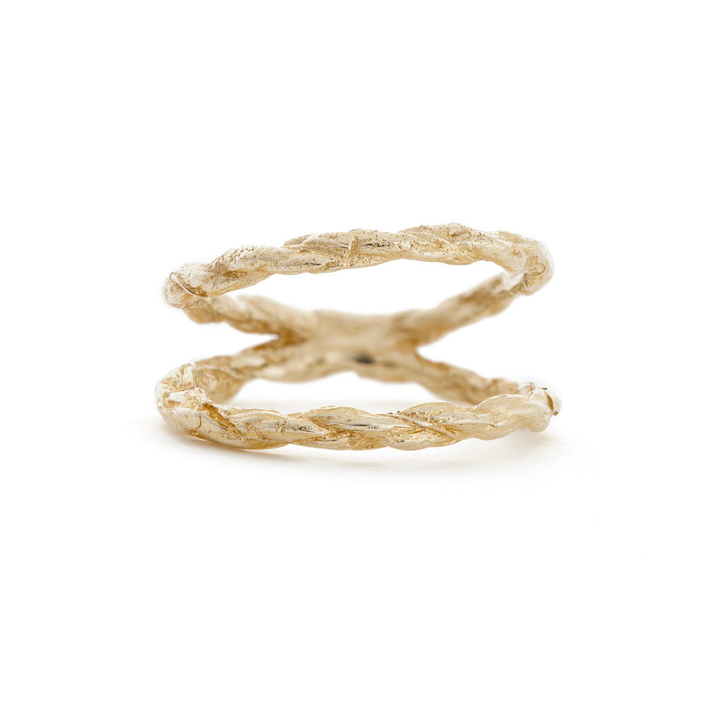 Chupi - Twice As Strong Together Solid Gold Ring
