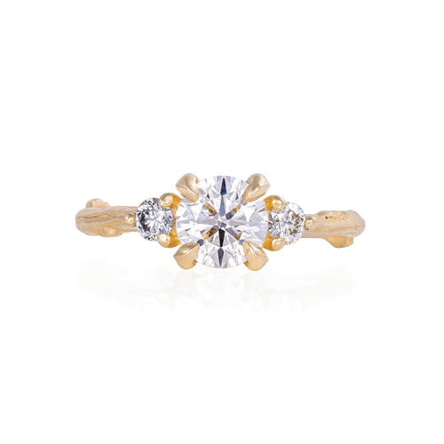image of Solid Gold You Me & Magic - One Carat Lab Grown Diamond Ring