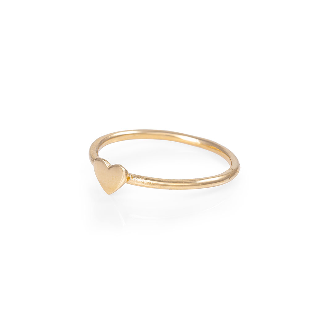 image-Solid Gold You Are My Heart Ring