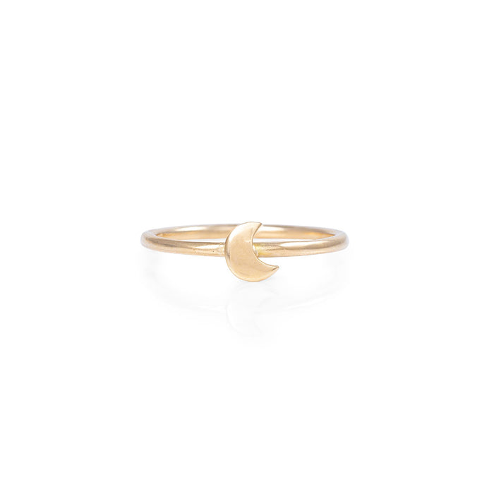 Chupi - Moon Ring - Solid Gold You Are My Moon