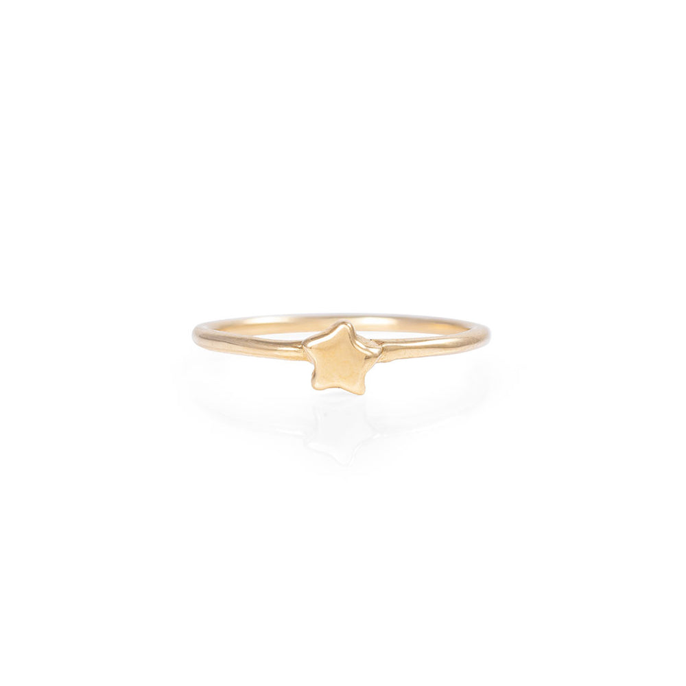 Chupi - Star Ring - Solid Gold You Are My Star