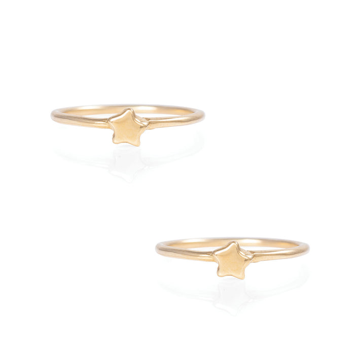 Chupi - Solid Gold Gift Set - You Are My Star Ring