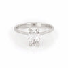 Moonlight - 14k Polished White Gold Lab-Grown Diamond Ring - Video cover