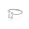 Moonlight - 14k Polished White Gold Lab-Grown Diamond Ring