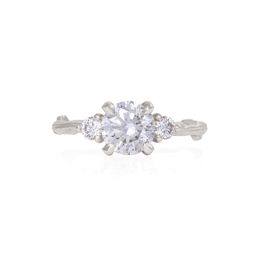 image of Solid White Gold You Me & Magic - Classic Diamond Ring
