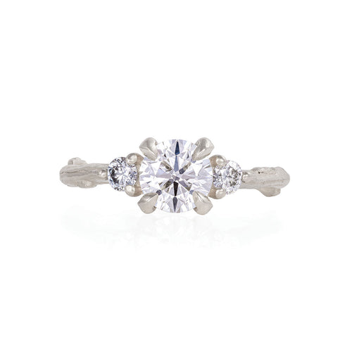 image of Solid White Gold You Me & Magic - Lab Grown Diamond Ring