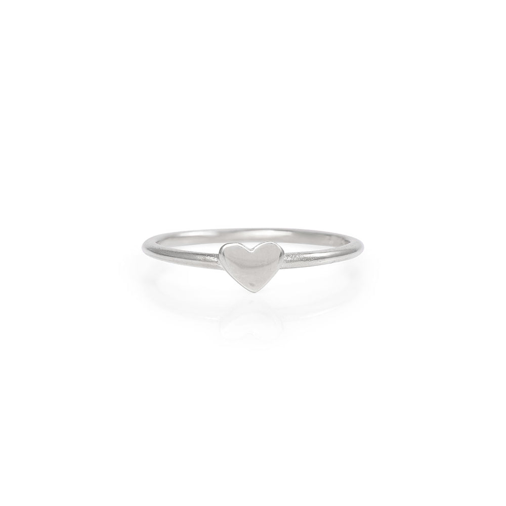 Chupi - Heart Ring - Solid White Gold You Are My Heart