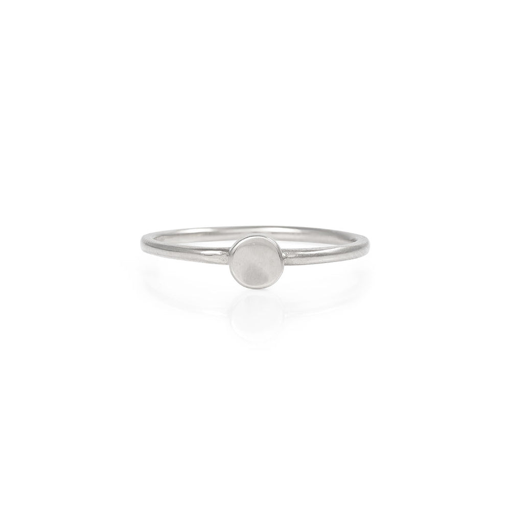 Chupi - Sun Ring - Solid White Gold You Are My Sun