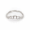 Crown of Love - 14k White Gold Twig Band Diamond Ring - Video cover