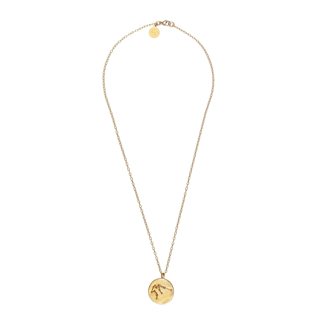 image-Aquarius We Are All Made Of Stars Chupi Necklace in Gold