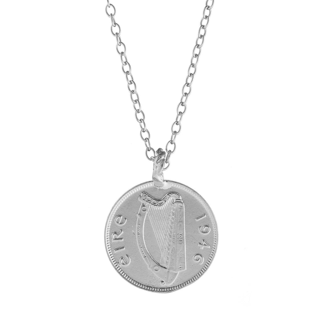 image-Chupi Worth Your Weight in Gold Farthing Coin Necklace Silver