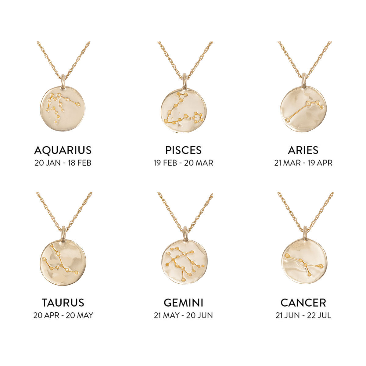Solid Gold We Are All Made Of Stars Necklace