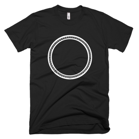 64 symbols b&w round Tee - SOUL BROS by telberry