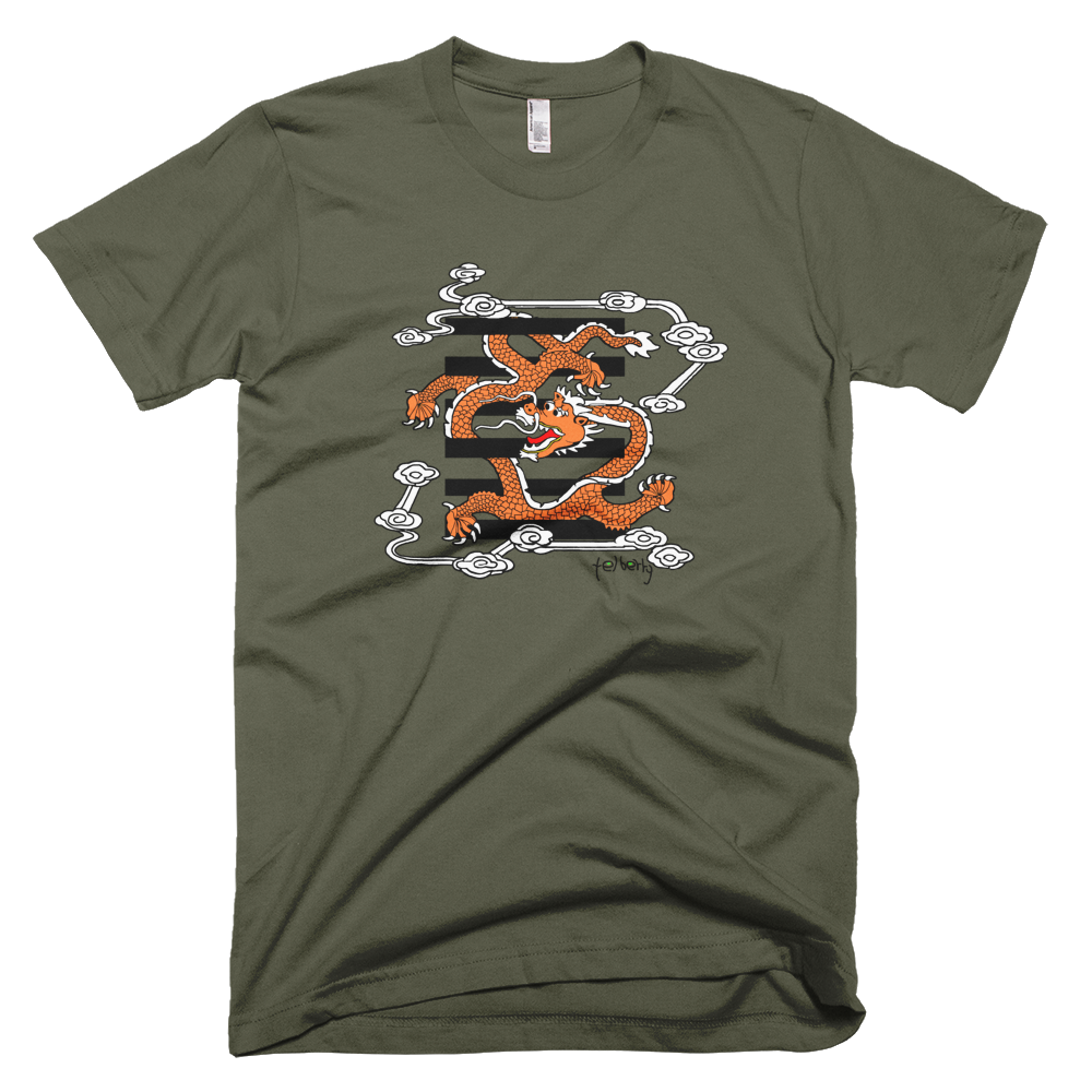 Dragon flying in the sky Tee - SOUL BROS by telberry